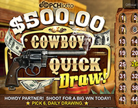 Lotto Cards-Cowboy Quick Draw