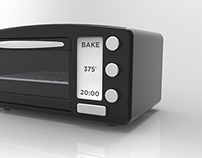 E-Ink Toaster Oven Interface