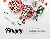 Fangry Food App