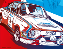 Skoda Auto posters