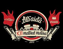 Disseny samarreta Matinal Motera Albaida 2013