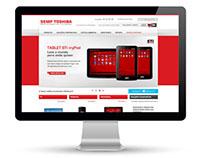 Semp Toshiba | Campanha Novo Ecommerce