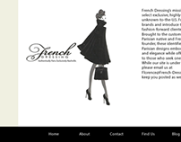 Website concept for French-Dressing