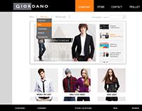Website Redesign - Giordano