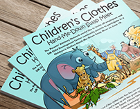 Children's Clothes Flyer