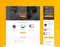 UI / UX - YumaPOS Website Design