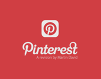 Pinterest App - a revision !