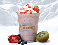 Creamice Infusia SA in-store advertising
