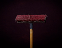 Brooms.