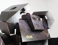 Cardboard Robot  / Robot de Carton