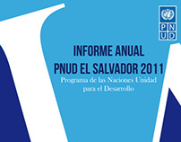 Informe Anual PNUD El Salvador 2011