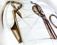 "Editorial illustrations: ""Pins"" for Magaz"
