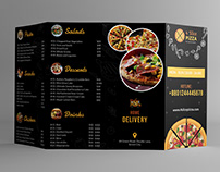Fourfold Pizza Template