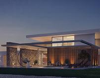 Modern Minimalist Private Villa  Design & Visualization