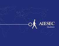 Aiesec-Laval,Card+Folder