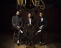 Moones: Modern Music Moguls Album Artwork