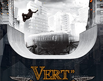 Vert Skate - Skateboarding Flyer Template
