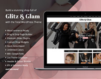 Glitz & Glam eCommerce Shop Web Design