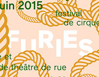 Furies festival — Poster 2015