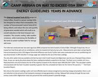 US Army Reduces Energy Usage by 26%