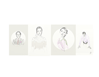 Fashion Illustration - Fashion Designers Bio Book
