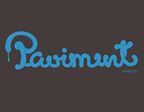 Paviment Print Typography