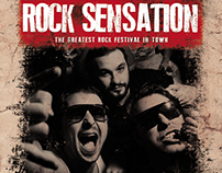 Rock Sensation Flyer
