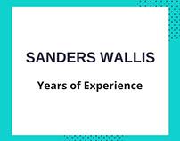 Sanders Wallis-Years of Experience