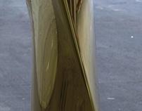 Brass Flower Vase