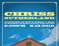 Chriss Sutherland Poster