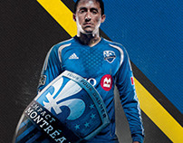 Makes your banner for Montreal Impact (Videotron)