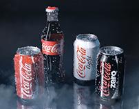 3D/CGI - Coke / Coca-Cola