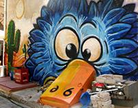 Graffiti - Mural Art - Older works