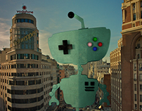 FreakRobot in Madrid