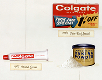 Colgate - through the years