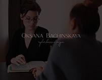 Oksana Bachinskaya Identity
