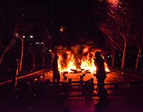 Barricadas / Foto periodismo