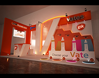 GSK vates booth
