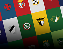 Portuguese Soccer Minimal Logos