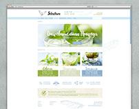 Silentium project Print identity Web design