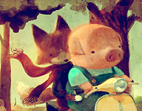Homage to The Dam Keeper