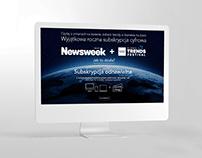 Newsweek various web ads (displays, LP, ect.)