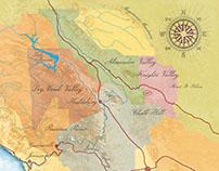 Winery maps
