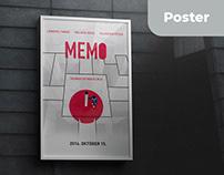 Memo // Movie / Poster design