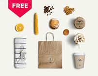 Eco Food Mockup Creator - FREE 12 OBJECTS