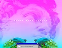 Cartaz Vaporwave