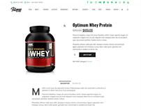 Product Page Shop - Fitness WordPress Theme
