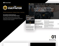The Cultivator- Website Design