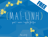 MailLinh - Free font - Typography