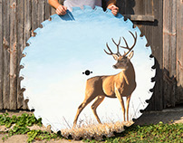 Stag on Mill Saw Blade